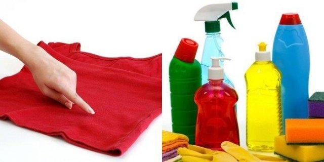 Чем удалить краску с одежды